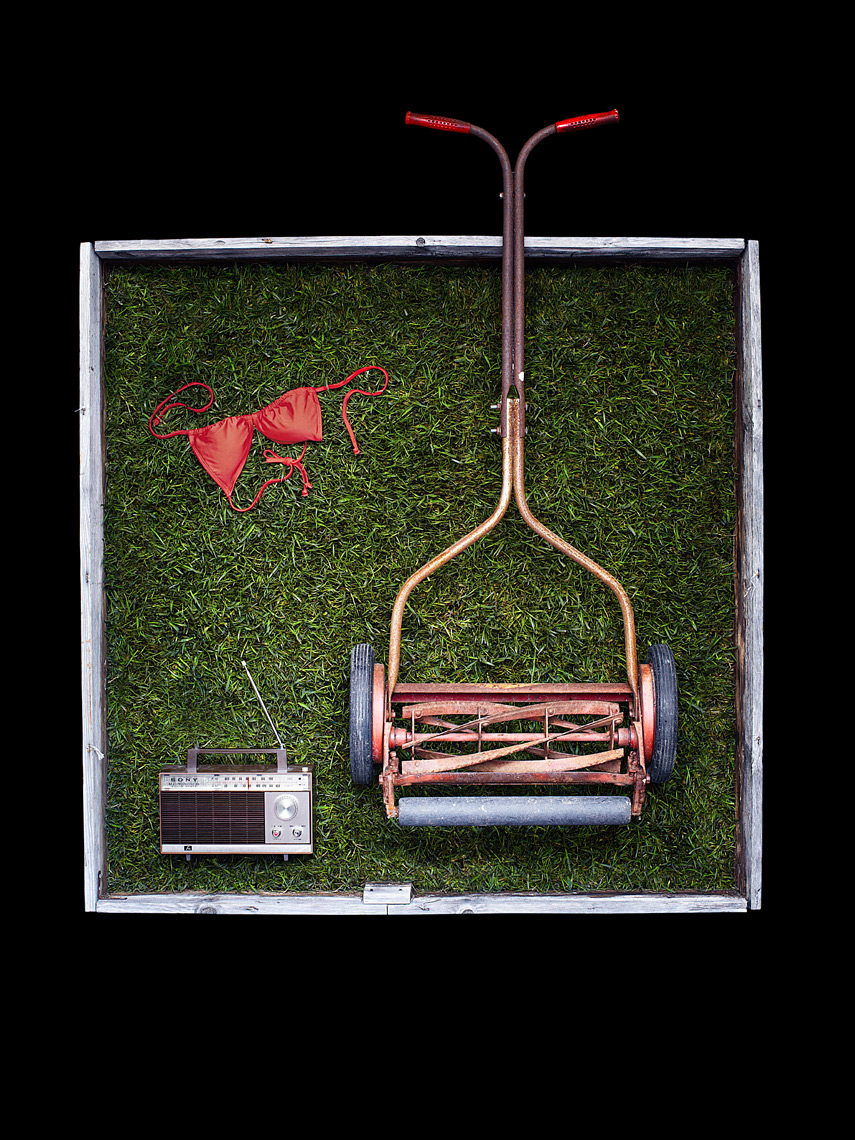 lawnmower - still life photographer los angeles
