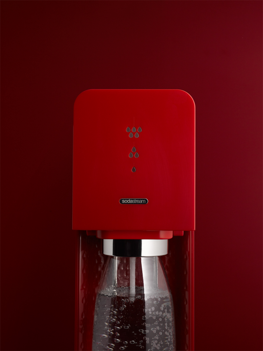 Soda Stream - San Francisco product photographer