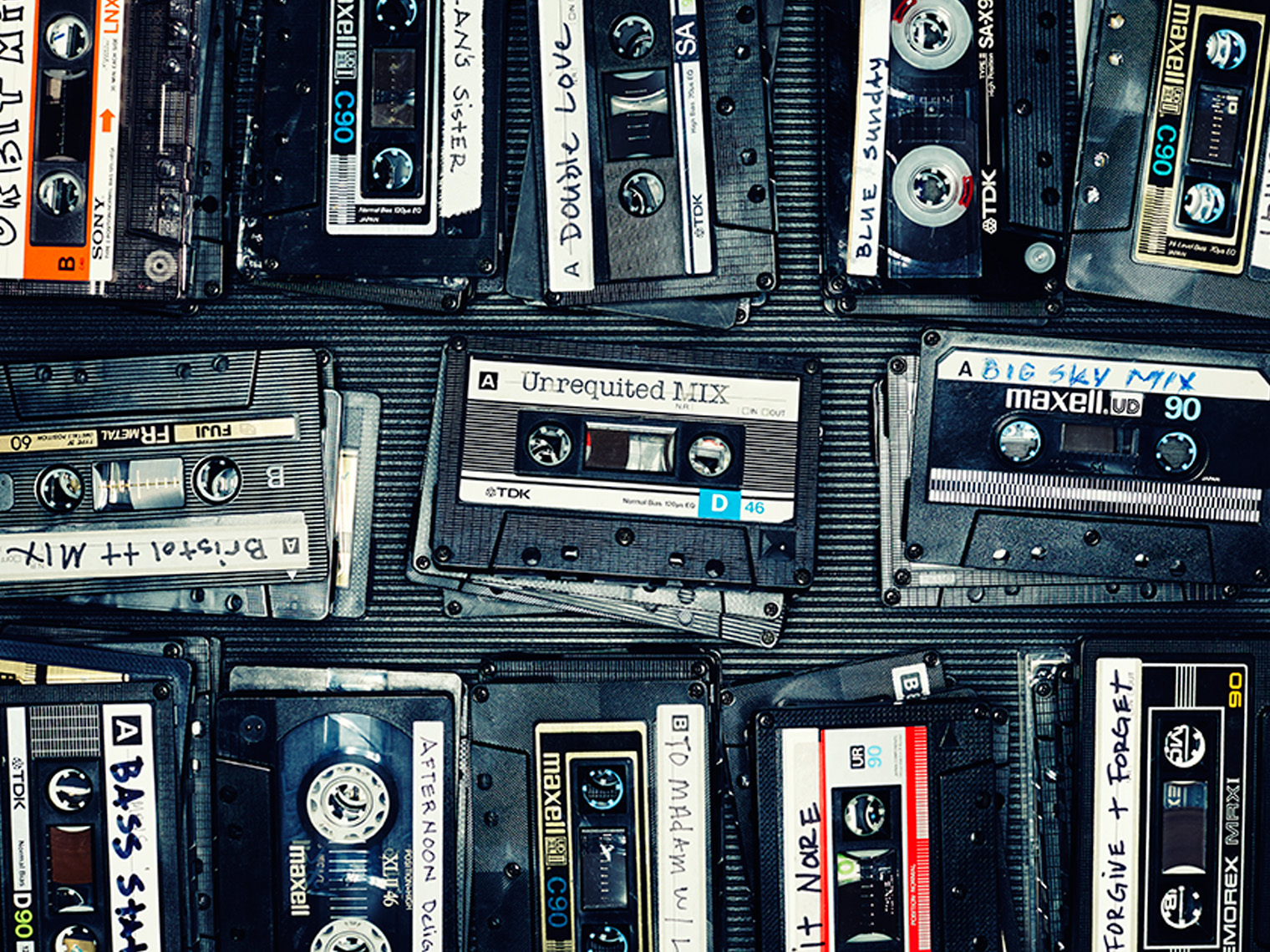 mix tapes - still life photographer san francisco